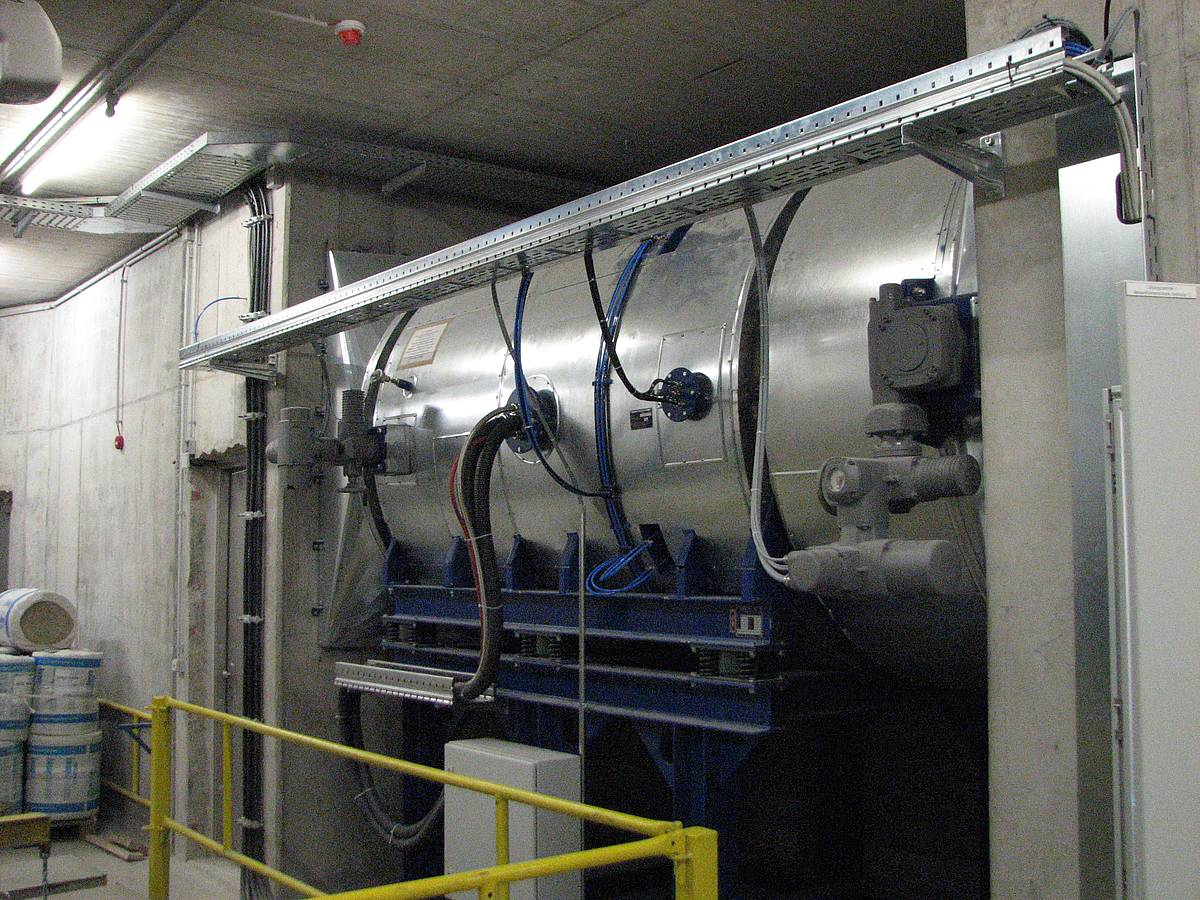 Tunnel Ventilation Fans : Tunnels evg group